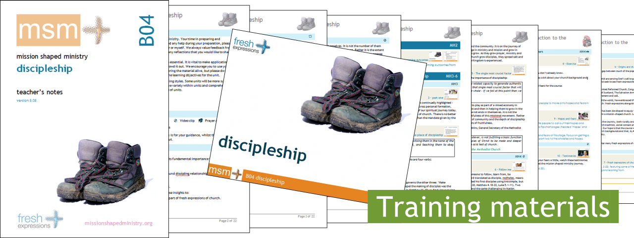 mission shaped ministry / mission shaped intro